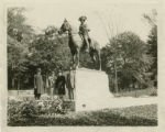 Statue of George Washington, Ford Mansion, 1928, Morristown, NJ