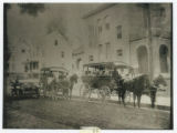 Horse drawn school carriages, circa 1914, Morris Township, NJ