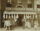 New York Cash Store, circa 1900, Morristown, NJ
