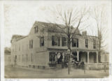Practical Plumbing store, South Street and Dehart, circa 1870, Morristown, NJ
