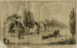 South Street, from the corner of Elm Street, 1837, Morristown, NJ
