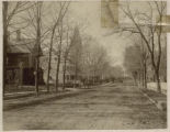 South Street, looking north towards town, 1888-89, Morristown, NJ