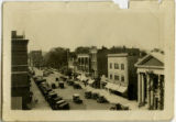 South Street, aerial view, circa 1900, Morristown, NJ