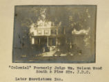 South Street, Judge Wood house, (later Morristown Inn) late 19th century, Morristown, NJ