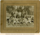 African American teenagers, group photograph, early 20th century, Morris County, NJ