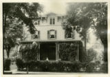 Maple Avenue, Pitney House, circa 1900, Morristown, NJ
