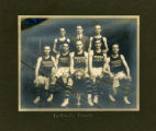 Morristown High School basketball team, 1914, Morristown, NJ