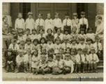 Mill's Street school,  first grade group photo, May 1930, Morristown NJ