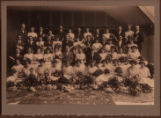 Morristown High School graduating class, 1912, Morristown, NJ