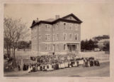 Maple Avenue School, Maple Avenue, circa 1870, Morristown, NJ