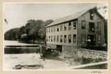 Speedwell Pattern Shop, Sash & Blind Factory, Hub factory, old log dam, circa 1880,...
