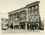 South Street businesses, east side of South Street, early 20th century, Morristown, NJ