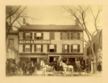Adams and Fairchild, grocers, North Park Place, (Building is the former Arnold Tavern,...