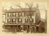 Adams and Fairchild, North Park Place,  (Building is the former Arnold Tavern, headquarters of...