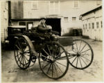Automobile, ca. 1900, Bank Street, Morristown, NJ