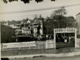 Used car lot, Spring Street, early 20th century, Morristown, NJ