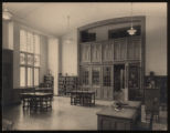 Morristown & Morris Township Public Library interior, 1 Miller Road, ca.1920, Morristown, NJ