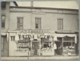 J.W. Thompson Fancy Goods and Trimmings Store, 1871-1877, Morristown, NJ