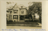 Franklin Place, house #30, T.O. Hill residence, circa 1900, Morristown, NJ