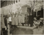World War I Memorial Marker dedication ceremony, 11/11/1928, Morristown, NJ