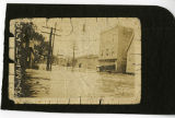 Flood, Corner Flagler and Water Street, 7/23/1919, Morristown, NJ