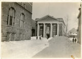 National Iron Bank, South street and Dehart street, view from Dehart street, not dated,...