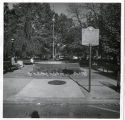 Morristown Green, fountain on West Park Place, 1983, Morristown, NJ
