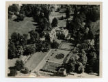 Delbarton, aerial view, not dated, Morris Township, NJ