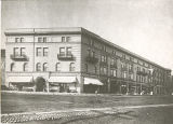 Speedwell Avenue and Park Place, The McAlpin building, Woodhull & Martin store, circa 1900,...