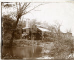 Mill by river, circa 1900, Morris County, NJ