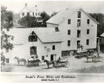 Jaqui's flour mill and residence, circa 1900, Morris Plains, NJ
