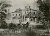 Foote mansion, on the site of Loyola, before 1904,  Morristown, NJ