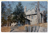 "Claflin mansion, ""Linderwold"", rear view, South Street, 1979, Morristown, NJ"