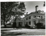 Frelinghuysen estate house at the Frelinghuysen Arboretum, Hanover Avenue, Fall 1970, Morristown,...