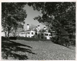 Frelinghuysen estate house at the Frelinghuysen Arboretum, view from lawn, Hanover Avenue, Fall...