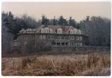 Wheatsheaf, Kissel estate, rear view, Sussex Ave. and Khadena Rd., circa 1980, Morris Township, NJ