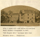 Paper mill operated by E.L Durling at Lake Pocahontas, not dated, Morristown, NJ