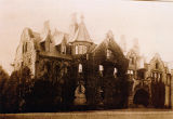 "Claflin mansion, ""Linderwold"", rear view, South Street, not dated, Morristown, NJ"
