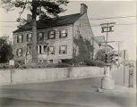 Spring and Water Streets, looking north up Spring street, Moses Estey house, circa 1920,...