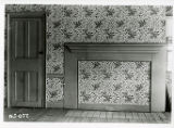 Estey house interior, interior mantel wall, south parlor, 62 Water Street, 11/7/1940, Morristown,...