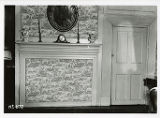 Estey house interior, interior mantel wall, northeast bedroom, 62 Water Street, 11/7/1940,...