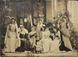 Miss Dana School, class play, circa 1900, Morristown, NJ
