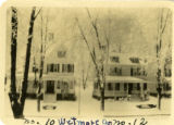 Wetmore Ave., #10 and 12, 1928, Morristown, NJ