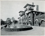 Otto Kahn Estate, fountain and driveway, not dated, Morris Township, NJ
