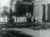 Ku Klux Klan gathering at Chester Federated Church, 6/20/1926, Chester, NJ