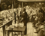 Governor Moore at the dedication of Washington's headquarters, July 4, 1933, Morristown, NJ