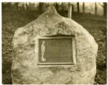 Continental Army Memorial stone at Washington's Headquarters, 1932, Morristown, NJ