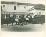 Whippany River Club coach ride, Whippany River Club , before 1913, Morris Township, NJ