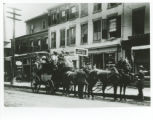 Whippany River Club coach ride, Park Ave,  circa 1900, Morristown, NJ