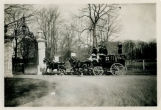 Whippany River Club Coach ride, Morris County  Coach enters Whippany River Club, circa 1900,...